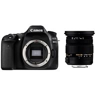 Canon EOS 80D + Sigma 17-50 mm