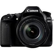 Canon EOS 80D + EF-S 18-135 mm IS USM - Digitálna zrkadlovka