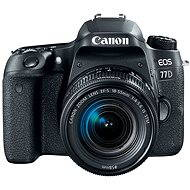 Canon EOS 77D čierny + 18-55mm IS STM - Digitálna zrkadlovka