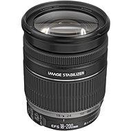 Canon EF-S 18-200 mm F3.5 - 5.6 IS Zoom čierny - Objektív