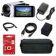 Canon Legria HF R806 kamera biela - Essential kit - Digitálna kamera