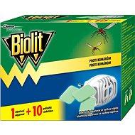 BIOLIT Elektrický odparovač s suchou náplňou 1 + 10 ks - Odpudzovač hmyzu
