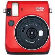 Fujifilm Instax Mini 70 červený - Digitálny fotoaparát