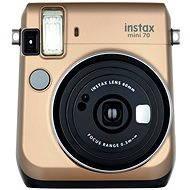 Fujifilm Instax Mini 70 zlatý - Digitálny fotoaparát