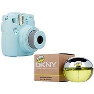 Fujifilm Instax Mini 9 svetlo modrý + DKNY Be Delicious EdP 100 ml