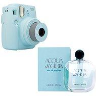 Fujifilm Instax Mini 9 svetlo modrý + GIORGIO ARMANI Acqua di Gioia EdP 100 ml