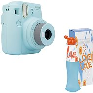 Fujifilm Instax Mini 9 svetlo modrý + MOSCHINO I Love Love EdT 100 ml