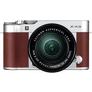 Fujifilm X-A3 hnedý + 16-50mm II - Digitálny fotoaparát