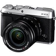Fujifilm X-E3 strieborný + XF 18 – 55 mm
