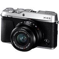 Fujifilm X-E3 stříbrný + XF 23mm