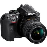 Nikon D3400 čierny + 18-55 mm AF-P VR - Digitálna zrkadlovka