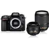 Nikon D7500 čierny + objektív 18 - 140mm + objektív 35mm DX - Digitálna zrkadlovka