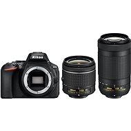 Nikon D5600 + AF-P 18-55 mm VR + 70-300 mm VR - Digitálna zrkadlovka