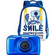 Nikon COOLPIX W100 modrý backpack kit - Digitálny fotoaparát