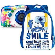 Nikon COOLPIX W100 námorná modrá backpack kit - Digitálny fotoaparát