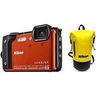 Nikon COOLPIX W300 oranžový Holiday Kit - Digitálny fotoaparát