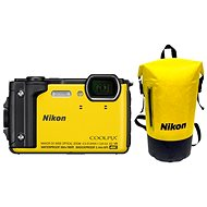 Nikon COOLPIX W300 žltý Holiday Kit - Digitálny fotoaparát
