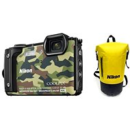 Nikon COOLPIX W300 maskáčový Holiday Kit - Digitálny fotoaparát