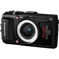 Olympus TOUGH TG-4 čierny + LG-1 LED Light Guide - Digitálny fotoaparát