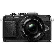 Olympus PEN E-PL7 čierny + objektív 14 - 42 mm Pancake Zoom - Digitálny fotoaparát