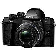 Olympus E-M10 Mark II black/black + 14 – 42 mm II R - Digitálny fotoaparát