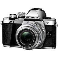 Olympus E-M10 Mark II silver/silver + 14 - 42 mm II R - Digitálny fotoaparát
