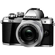 Olympus E-M10 Mark II silver/silver + ED 14 – 42 mm EZ - Digitálny fotoaparát