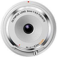 M.ZUIKO DIGITAL BCL 9mm white - Objektív