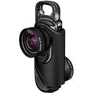 Olloclip core lens + 2 cases Black/Black pre iPhone 7 a iPhone 7 Plus - Objektív