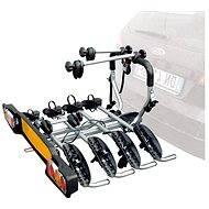 Nosič pre ťažné zariadenie SIENA pre 4 bicykle Fe, strieborné - Nosič bicyklov