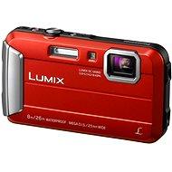 Panasonic LUMIX DMC-FT30 červený - Digitálny fotoaparát