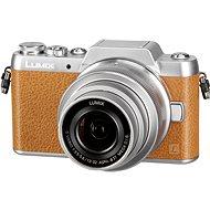 Panasonic LUMIX DMC-GF7 hnedý + objektív 12-32mm - Digitálny fotoaparát