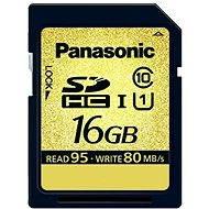 Panasonic SDHC 16GB UHS speed Class I GOLD PRO - Pamäťová karta
