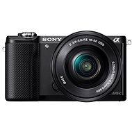 Sony Alpha 5000 čierny + objektív 16-50mm - Digitálny fotoaparát