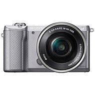 Sony Alpha 5000 strieborný + objektív 16-50mm - Digitálny fotoaparát