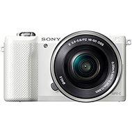 Sony Alpha 5000 biely + objektív 16-50mm - Digitálny fotoaparát