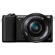 Sony Alpha A5100 čierny + objektív 16-50mm - Digitálny fotoaparát