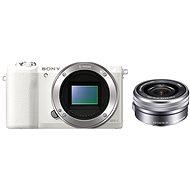 Sony Alpha A5100 biely + objektív 16-50mm - Digitálny fotoaparát