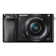 Sony Alpha 6000 čierny + objektívy 16 - 50 mm + 55 - 210 mm - Digitálny fotoaparát