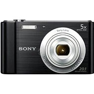 Sony CyberShot DSC-W800 čierny - Digitálny fotoaparát