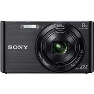 Sony CyberShot DSC-W830 čierny - Digitálny fotoaparát