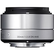 SIGMA 30 mm F2.8 DN ART strieborný OLYMPUS - Objektív