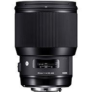 SIGMA 85 mm F1.4 DG HSM Art pre Canon - Objektív