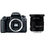Canon EOS 77D + Sigma 17-50 mm