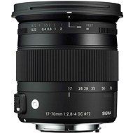 SIGMA 17–70 mm F2.8-4 DC MACRO OS HSM pre Canon (rad Contemporary) - Objektív