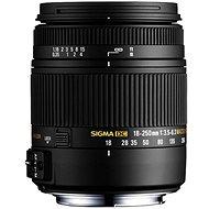 SIGMA 18 – 250 mm F3.5 – 6.3 DC Macro OS HSM pre Canon - Objektív
