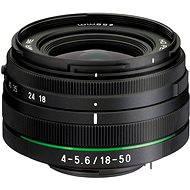PENTAX HD DA 18-50mm F4-5.6 DC WR RE - Objektív