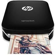 HP Sprocket Photo Printer čierna - Mobilná tlačiareň