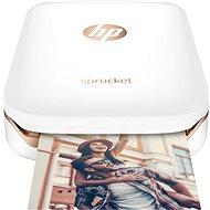 HP Sprocket Photo Printer biela - Mobilná tlačiareň