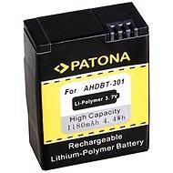 PATONA pre GoPro HD Hero 3 1180 mAh Li-Pol - Náhradná batéria